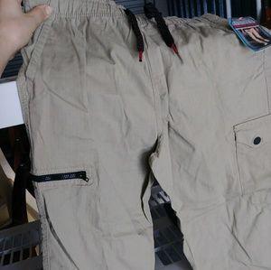 Brand new khaki rugged active pants